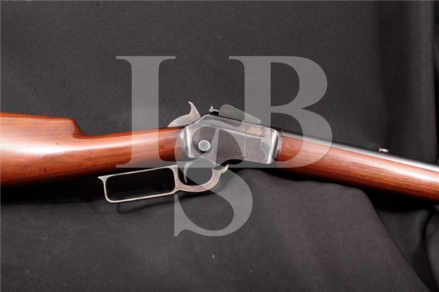 Marlin 1892 Takedown .32 Cal Lever Action Rifle Lyman No. 5 & L. L. Hepburn Sights, MFD 1908 C&R