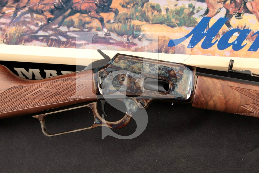 "Marlin 1894 Century Limited Commemorative Model, Blue & Case Colored 24 ¼"" Lever Action Tube Fed Rifle & Box, MFD 1994"