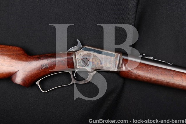 Marlin 39-A 39a 1st Model .22 LR Blue & Case Color Takedown Lever-Action Rifle, MFD 1939 1st YEAR!