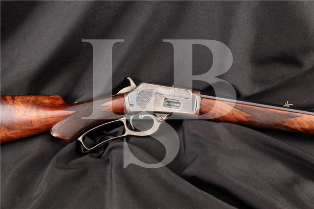 Marlin Model 1889 Deluxe New Safety 1/2 Octagon 26″ .32-20 Win Lever Action Rifle, 1894 Antique