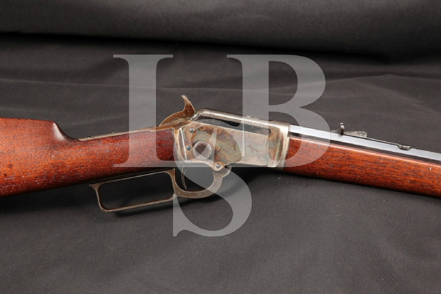 "Marlin Model 1897 Blue & Case Color 24"" Takedown Lever Action Rifle, MFD 1907-1915 C&R"