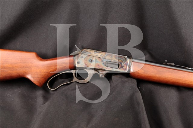 """Marlin Model 1936 2nd Variation 2/3 Mag 30-30 Cal 24"""" Lever Action Rifle, MFD 1936-37 C&R"""