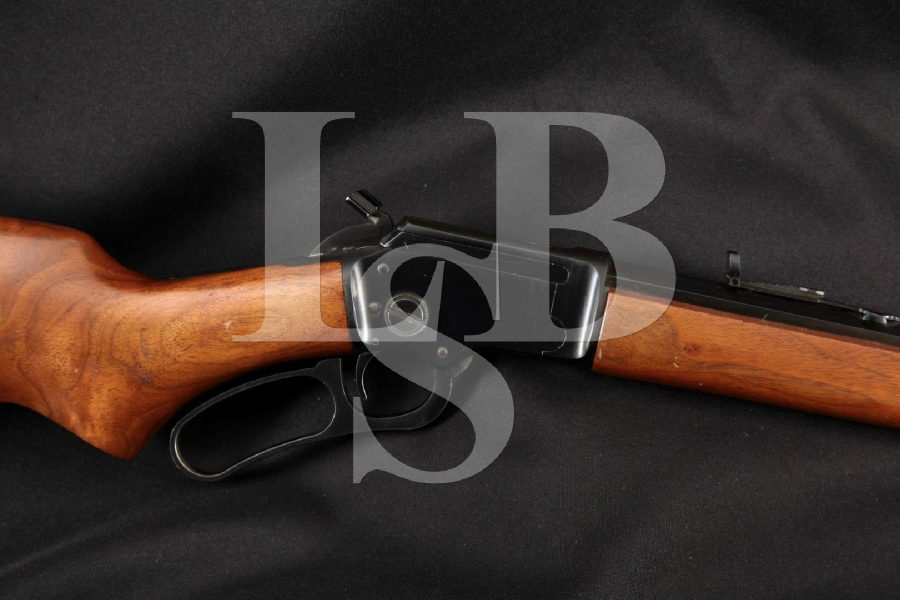 """Marlin Model 39A 39-A Octagon, Scarce Blue 24"""" Lever Action Tube Fed Takedown Rifle, MFD 1973"""