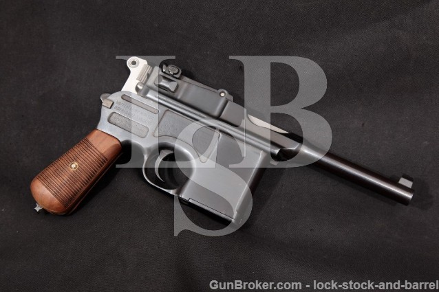 Mauser C96 C-96 Broomhandle Post-War Bolo Matching Non Import Semi-Automatic Pistol 1923-1930 7.63mm