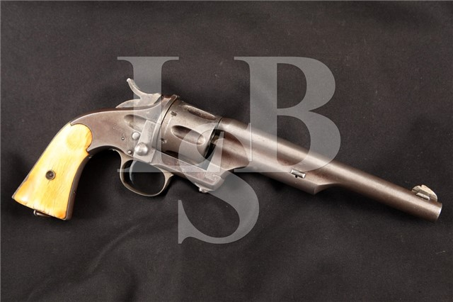 Merwin Hulbert 1st Model 44 Single Action Revolver Made by Hopkins & Allen Ca. 1870's – ANTIQUE