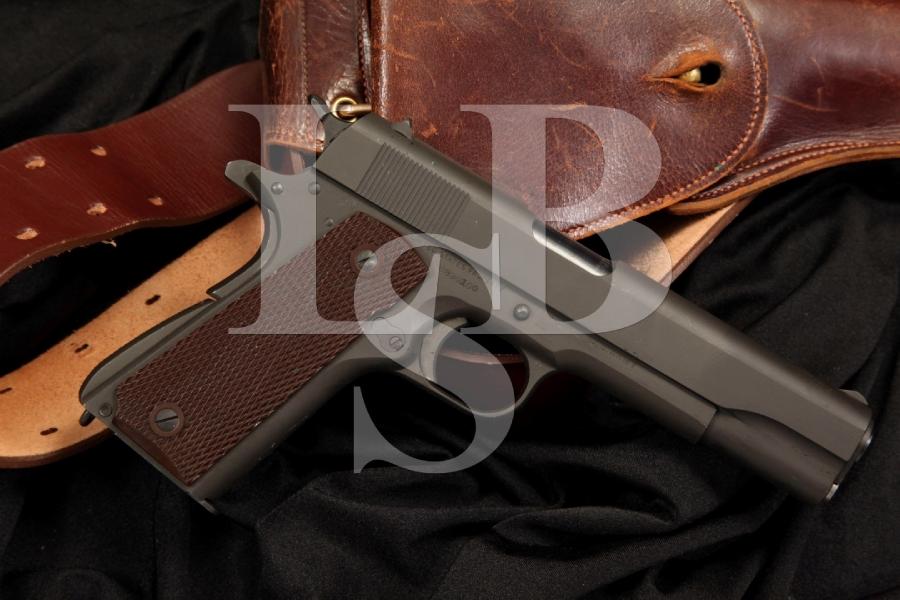Mint Colt Model 1911A1 1911-A1 .45 ACP Semi Auto Pistol, MFD March 1943 WWII – C&R OK
