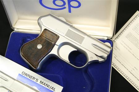 COP Stainless 4-Barrel .357 Magnum Backup Derringer – Sold at a World Record Price