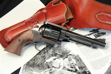 "Documented Texas Longhorn Arms Grover's Improved No. 5 ""Number Five"" Single Action .44 Mag"