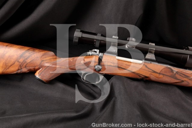 Mountain Riflery John Bolliger Custom Winchester Signature Series Model 70 .243 & Swarozski Scope
