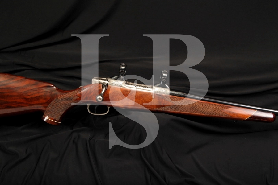 Near Mint Colt Sauer Grade IV .243 Winchester Win. Sporting Bolt Action Rifle, Hand Engraved