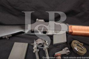 Ohio Ordnance Works 1918A3 Browning .30-06 BAR Self Loading SLR Semi-Auto Rifle, Bipod & Sling