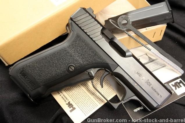 Heckler & Koch H&K HKP7M10 .40 S&W Semi Auto Pistol – In the Box & Accessories – MFD 1993