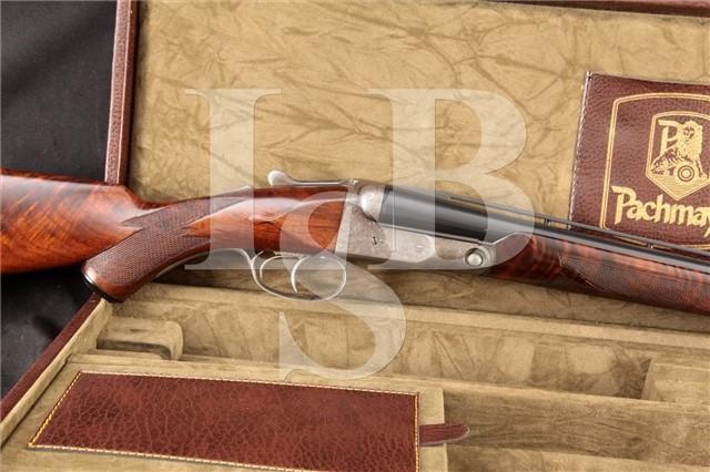 "Parker Bros. TI3 D Grade 3 Titanic Steel 30"" 16 Ga SxS Side By Side Double Trigger Shotgun, 1930 C&R"