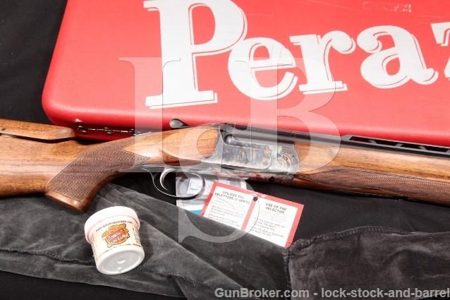 Perazzi Ithaca MX8 MX-8 Blue& Case Color 23″ 12 Ga Vent Rib O/U Over-Under Shotgun & Case, MFD 1975