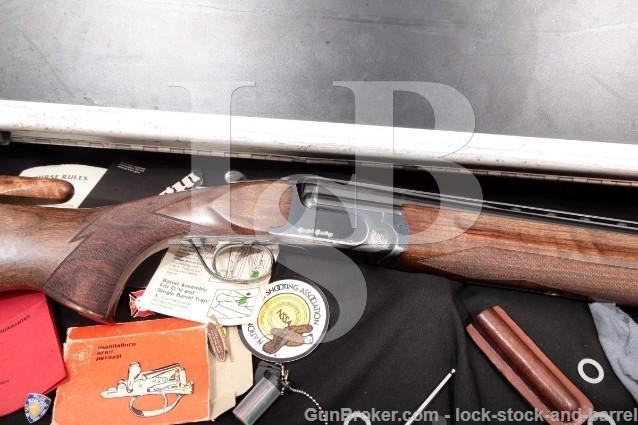 "Perazzi Mirage-S Special Sporting 29 1/2"" Vent-Rib O/U Double Barrel, Case & More 1997 12 Gauge"