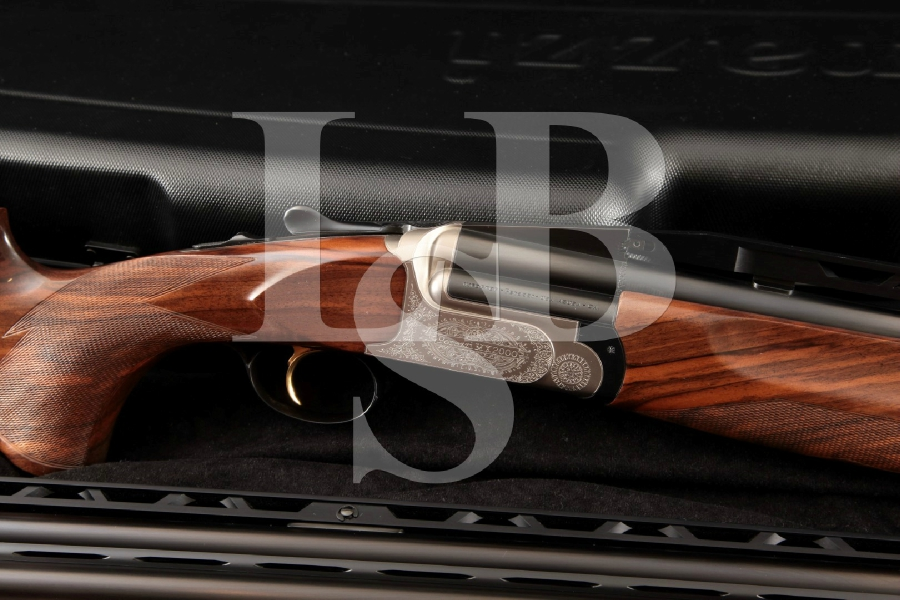 Perazzi Model MX 2000 RS/CO + Trap, Skeet & Sporting Barrel Sets, Blue & Gray Over / Under Shotgun, Chokes & Case, MFD 2013