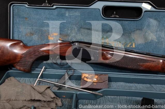 "Perazzi Model MX3 27 1/2"" Vent-Rib Single Trigger 12 Ga O/U Over-Under Shotgun Case & Chokes, 1984"