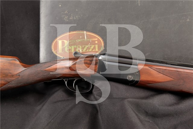 Perazzi Model MX3, Blue 26″ 12 Ga O/U Over Under Double Barrel Fixed Choke Shotgun & Case, MFD 1983