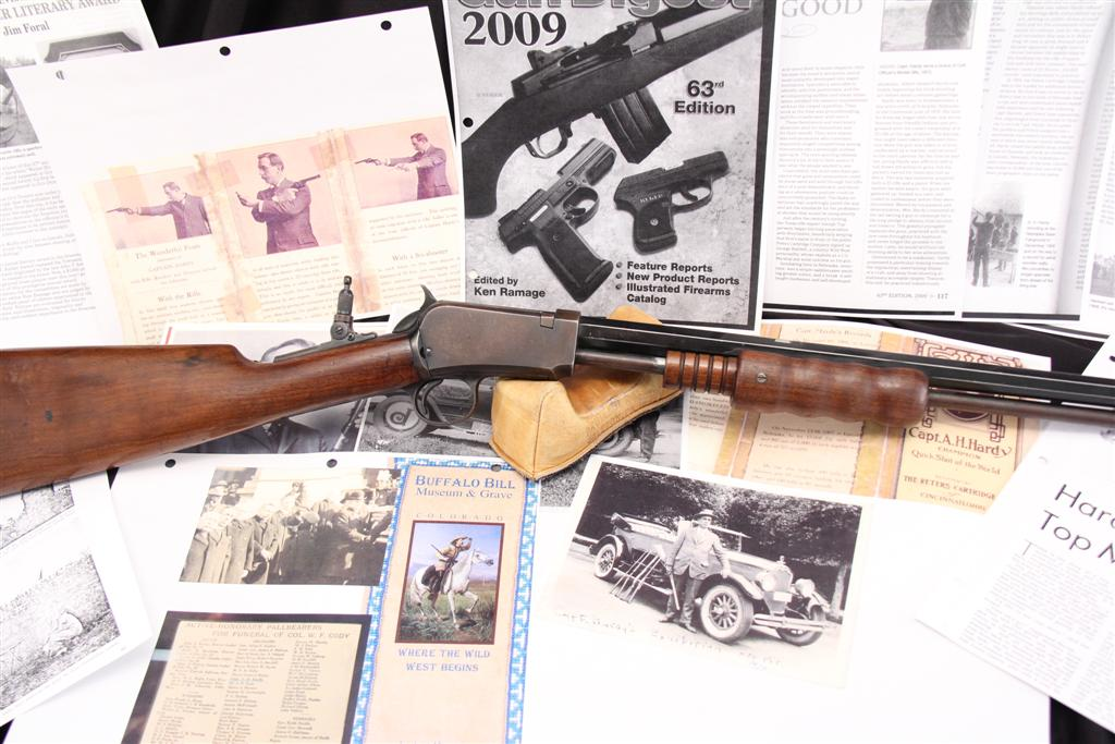 Captain A.H. Hardy's Winchester1890 Exhibition Rifle For Sale At LSB