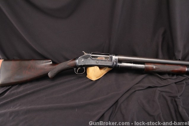 Deluxe Pigeon Grade Winchester Model 1897 Factory Engraved Pump Action Shotgun – Mf'd 1899