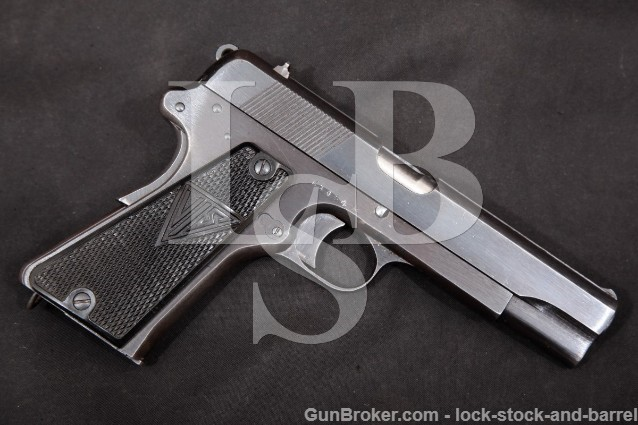 Polish Radom VIS 35 M1935 Grade II Nazi Marked 9mm P.35(p) Semi-Automatic Pistol, WWII 1940-1944 C&R