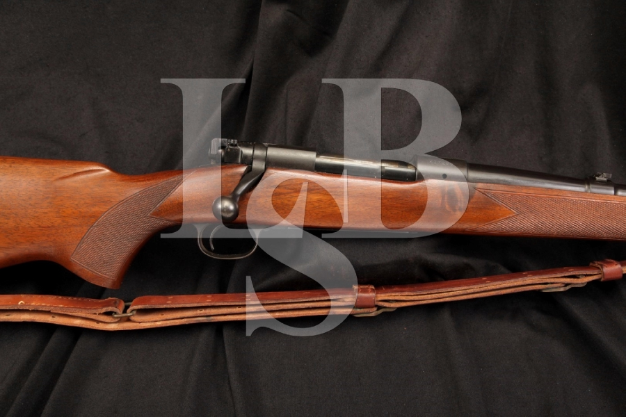 Pre-64 Winchester Model 70 .257 Roberts Bolt Action Rifle & Sling, MFD 1952 C&R OK