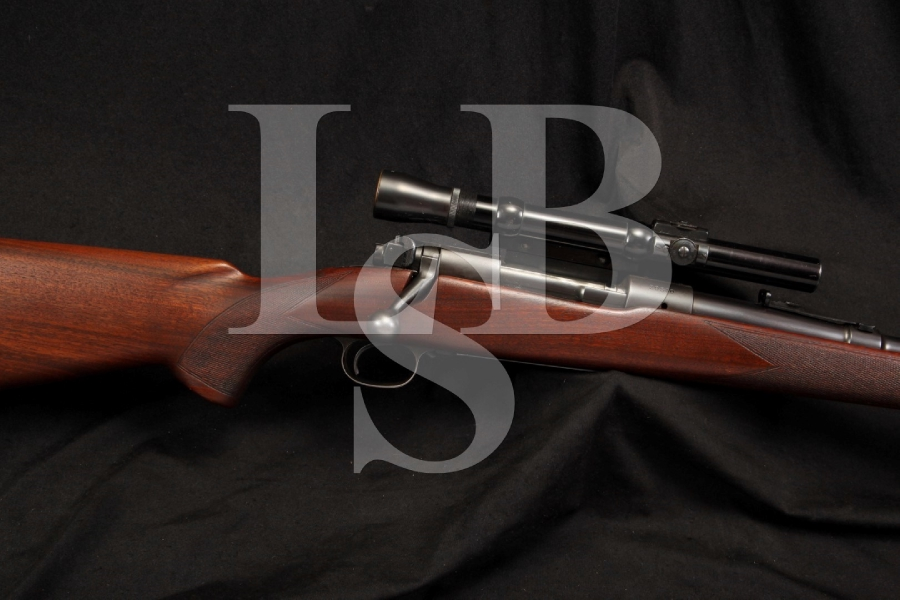 Pre-64 Winchester Model 70 .30-06 Sprg. Springfield Bolt Action Rifle, Vintage Lyman Alaskan Scope on Griffin & Howe Base
