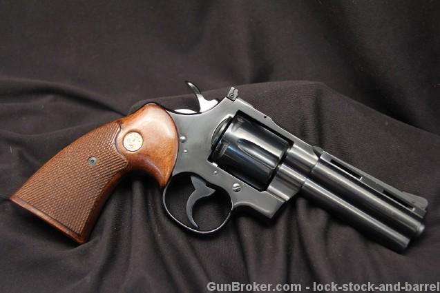 1966 4″ Colt Python .357 Magnum Double Action Revolver – Sold For $3,300