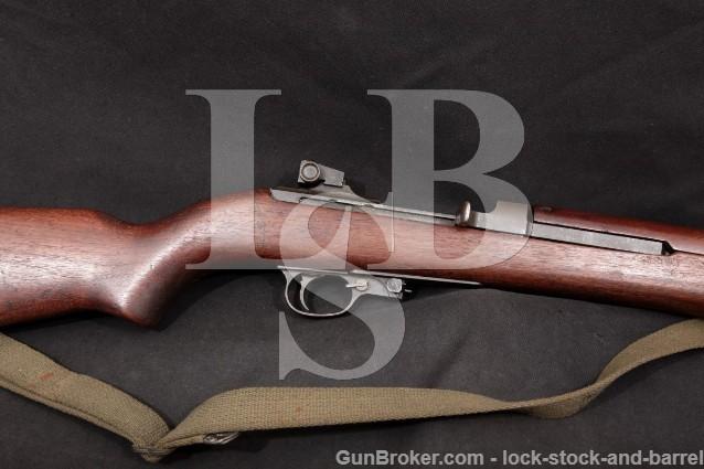 "Quality Hardware H.M.C. M1 .30 Carbine 18"" Parkerized Military Semi Automatic Rifle, 1944 C&R"