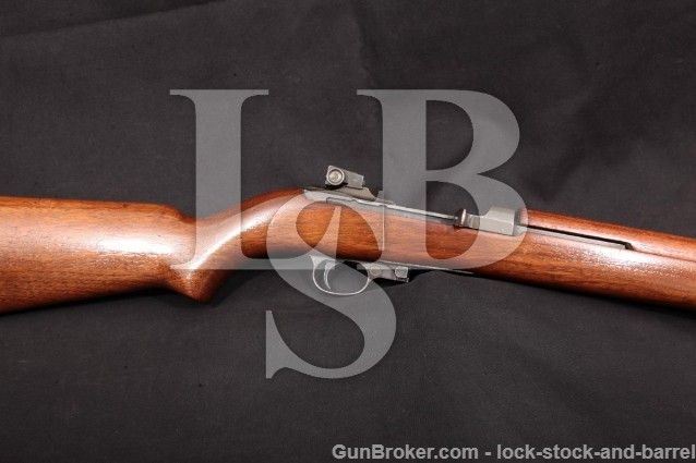 Quality Hardware & Machine Co M1 Carbine, MFD 1943 QHC M-1 Carbine, 18″ Semi-Auto Rifle, .30 Cal. C&R