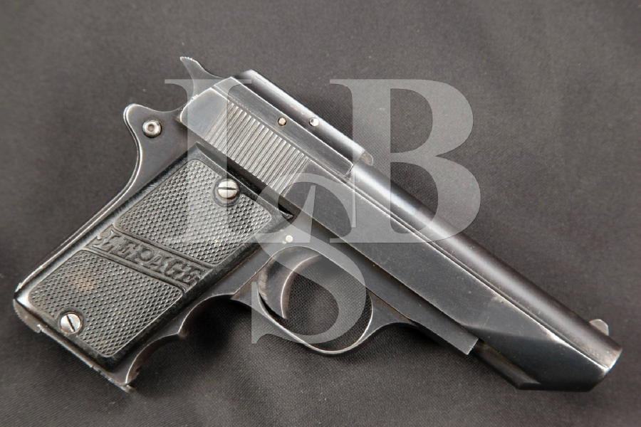 "RARE Belgian Lepage Model Automatic Pocket Pistol, Blue 3 5/8"" SA Semi-Automatic Pocket Pistol, MFD 1925-1932 C&R"