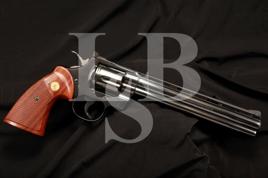 RARE Blue Colt Python Target .38 Special Double Action Revolver, 1 of 3,489 Made