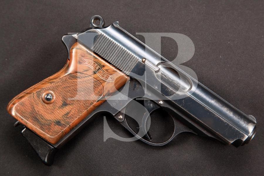 RARE Pre-WWII Walther Model PPK 3 1/4 IN SA Semi-Automatic Pistol, MFD 1930-39 C&R