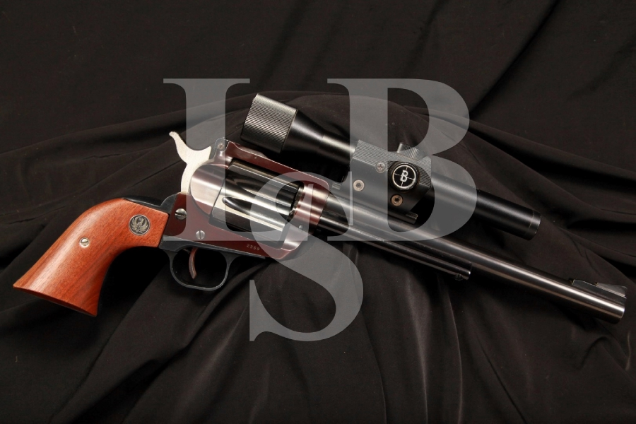 RARE Ruger Hawkeye Single Shot .256 Winchester Magnum Win Mag Pistol & Scope, C&R