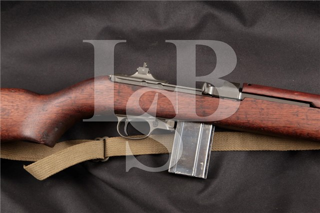 RARE Saginaw S'G' (SG) M1 .30 Carbine Matching Non-Import, Parkerized Semi Automatic Rifle 6-43