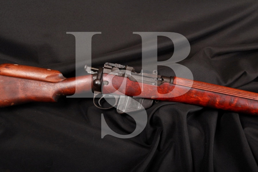 RARE Savage No. 4 Mk 1*(T) Enfield .303 British Bolt Action Sniper Rifle MFD 1942, C&R