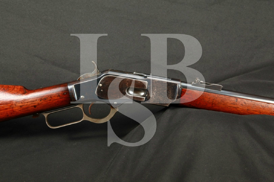 RARE Winchester Model 1873 Musket, 30″ Lever Action Rifle, SHARP , MFD 1903 C&R
