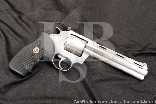 Rare Colt Grizzly .357 Magnum Double Action Revolver w/ Factory Python Barrel on King Cobra Frame