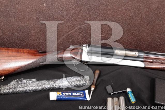 "Rare Cosmi Long-Recoil 12 GA Semi-Auto Shotgun C&R Blue & Chrome 25 1/2"" W/ Chokes & Case, MFD 1930s"