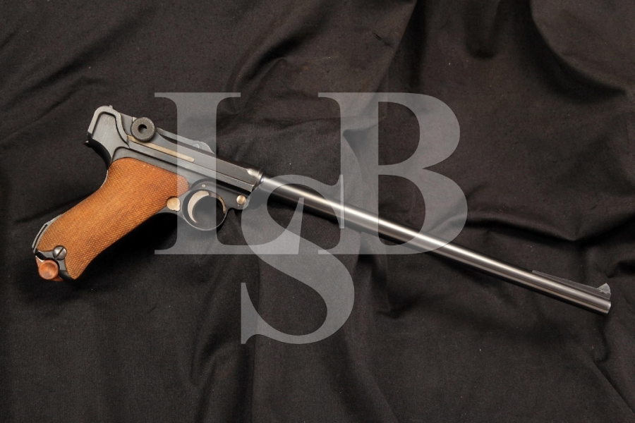 Rare DWM Luger 1920 Commercial .30 Caliber Semi Auto Pistol Carbine, Matching Numbers, C&R