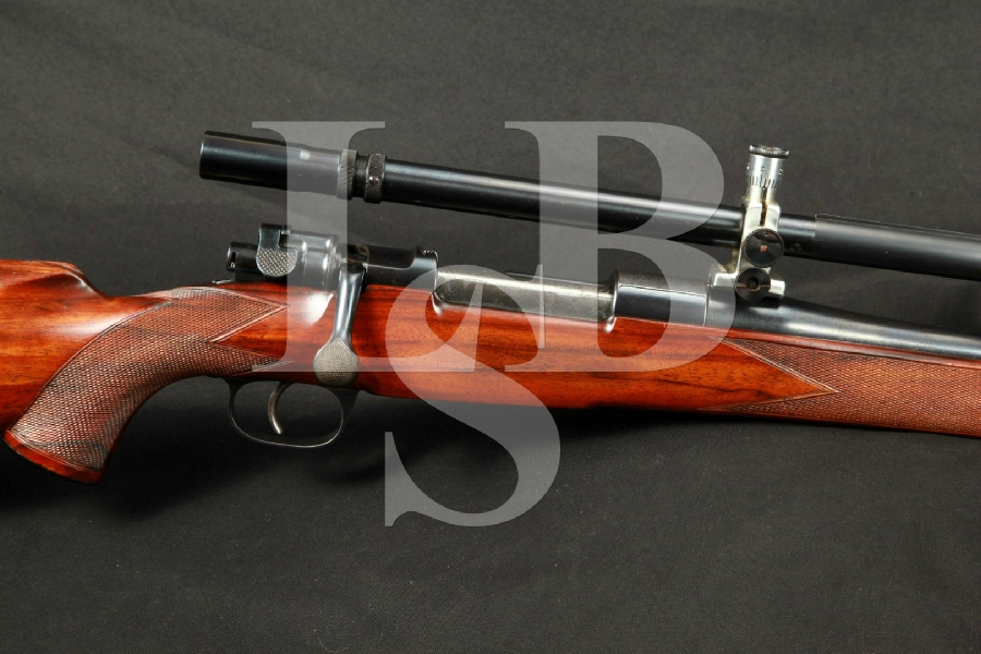 Rare Leonard & Hyde Custom Mauser Blue 26″ Target Rifle Unertl Target Scope MFD 1935-1936 C&R