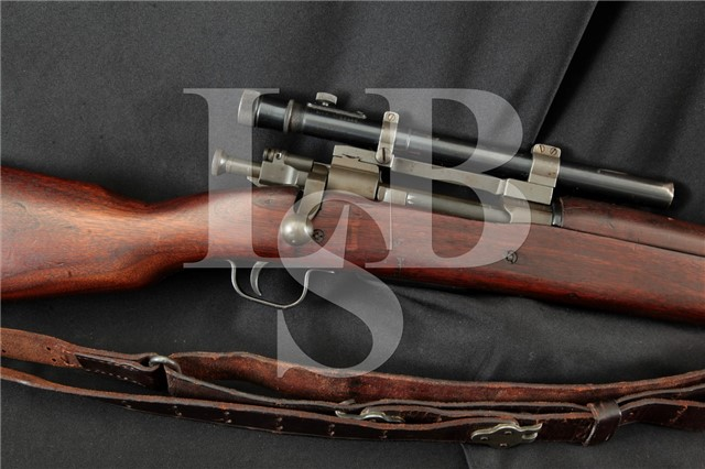 Remington 03-A4 1903A4 .30-06 SPRG Sniper Rifle Military Bolt Action Rifle & M37b1 Scope, 1944 C&R