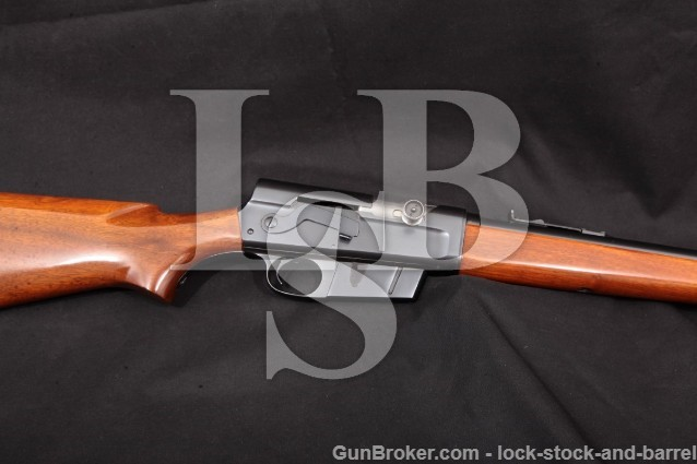 "Remington Model 81A Woodsmaster, Blue 22"" .35 Rem Internal Box Mag Semi-Automatic Rifle MFD 1942 C&R"