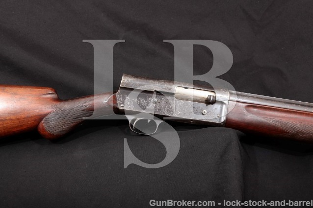 "Remington UMC Model 11-D 11D Tournament Engraved 12 Ga 28"" Solid Rib Semi-Automatic Shotgun 1911-13"