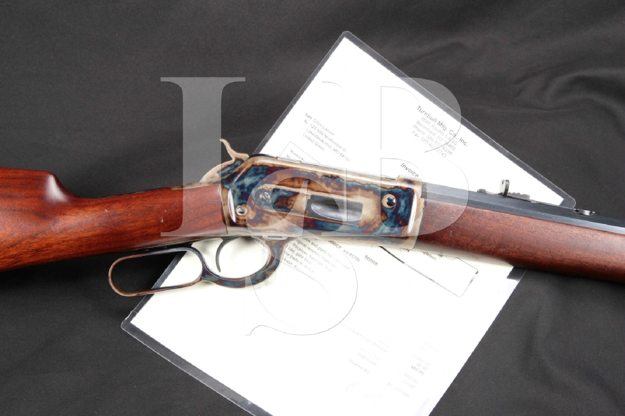 "Restored Winchester Model 1886, Blue & Case Octagon 26"" Lever Action Rifle & Paperwork, MFD 1894 Antique"