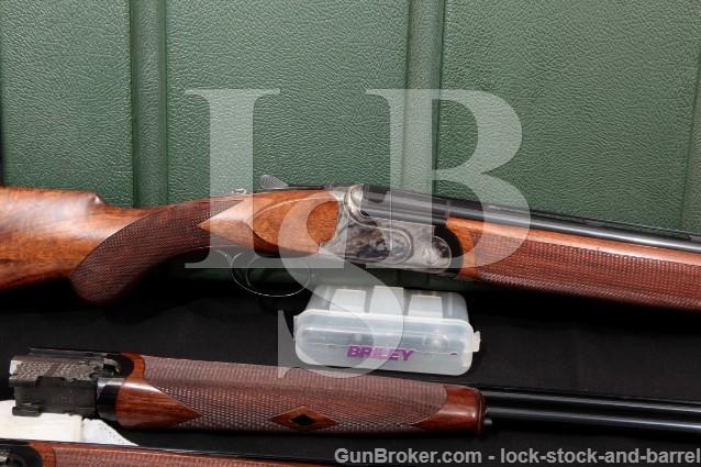 Rizzini Aurum Classic Three Gauge 30″ & 28″ O/U Double Barrel Shotgun & Case, 2004 20, 28 & .410