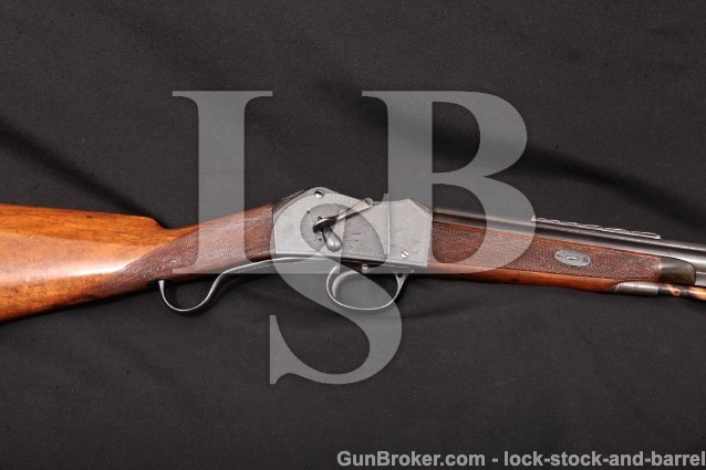 Robert Hughes Martini Henry Trade Rifle 577/450 Blue 28 1/2″ Solid Rib Single Shot Rifle, C&R