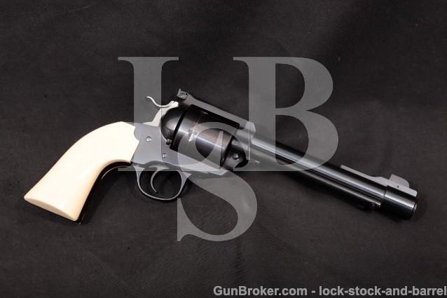 Ruger Bowen Custom Blackhawk Bisley Big Bore 1995 Blue 6 1/2″ Single Action Revolver, .475 Linebaugh