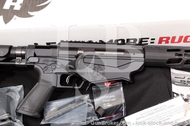 "Ruger Precision Rifle RPR 18008, Black 24"" Bolt Action Rifle, Box & More 6.5 Creedmoor"