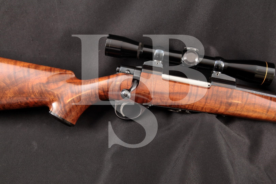 SAKO Pre-Garcia Model Finnbear Deluxe .270 Winchester Sporter, L61R Action Blue 22 INCH Bolt Action Rifle & Scope, MFD ca. 1964 C&R